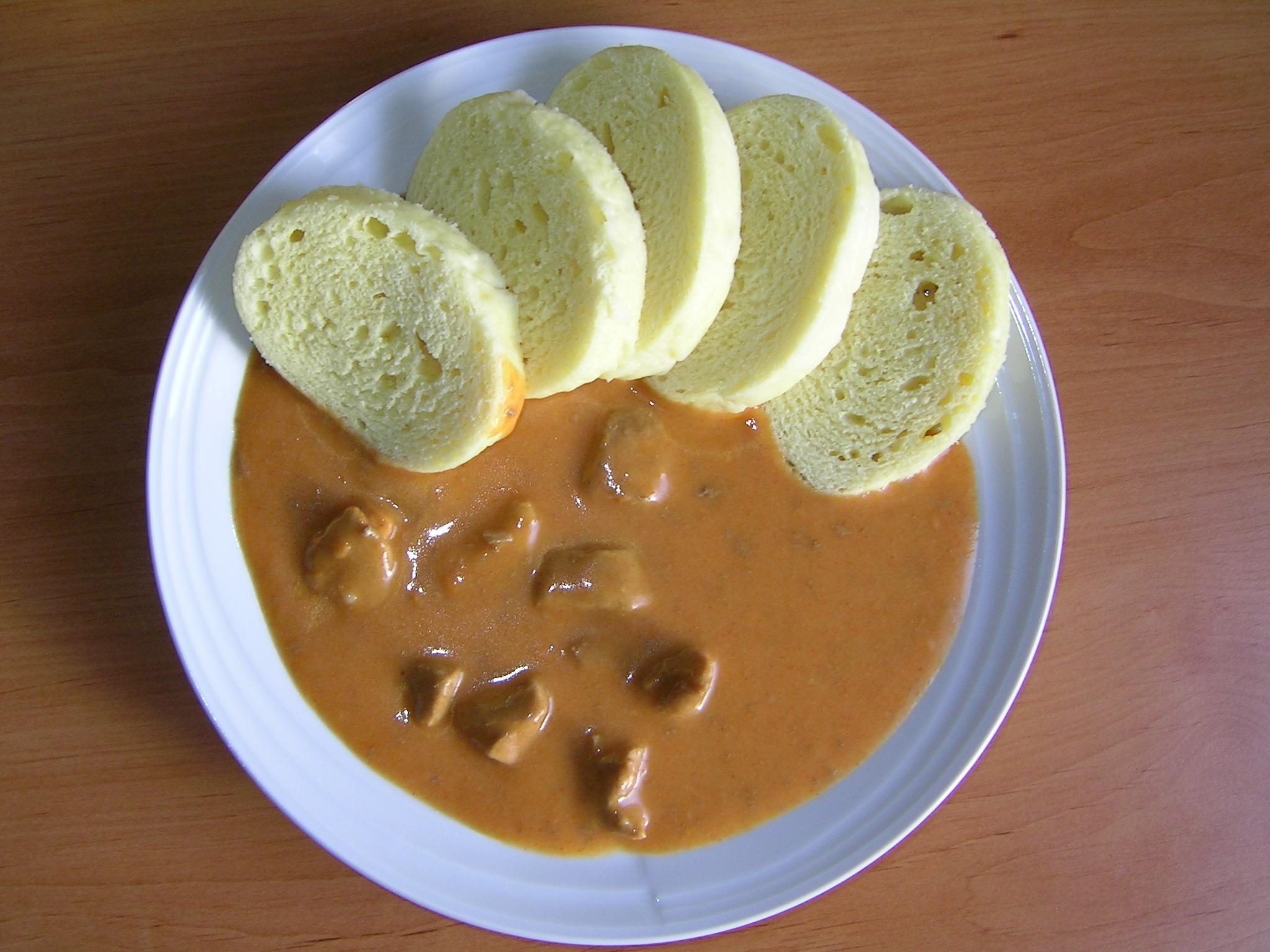 Fotografie receptu: Vepřové kostky na paprice