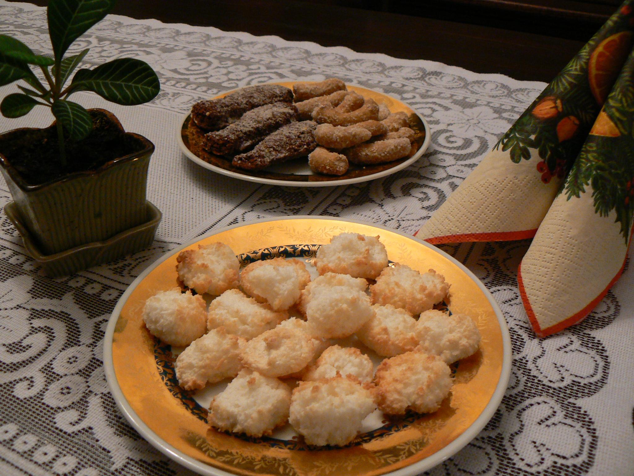 Fotografie receptu: Kokosové pusinky