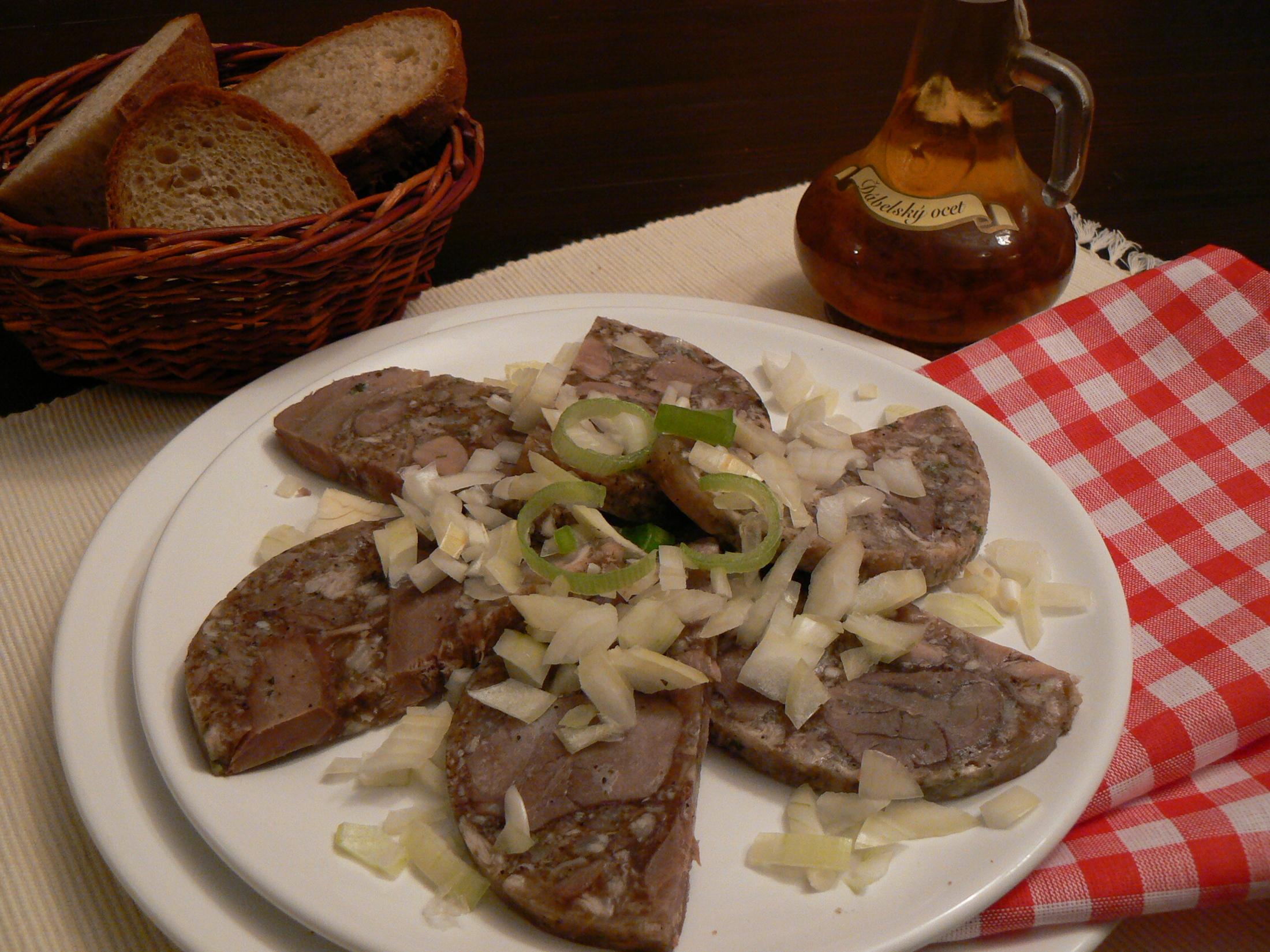 Fotografie receptu: Domácí tlačenka