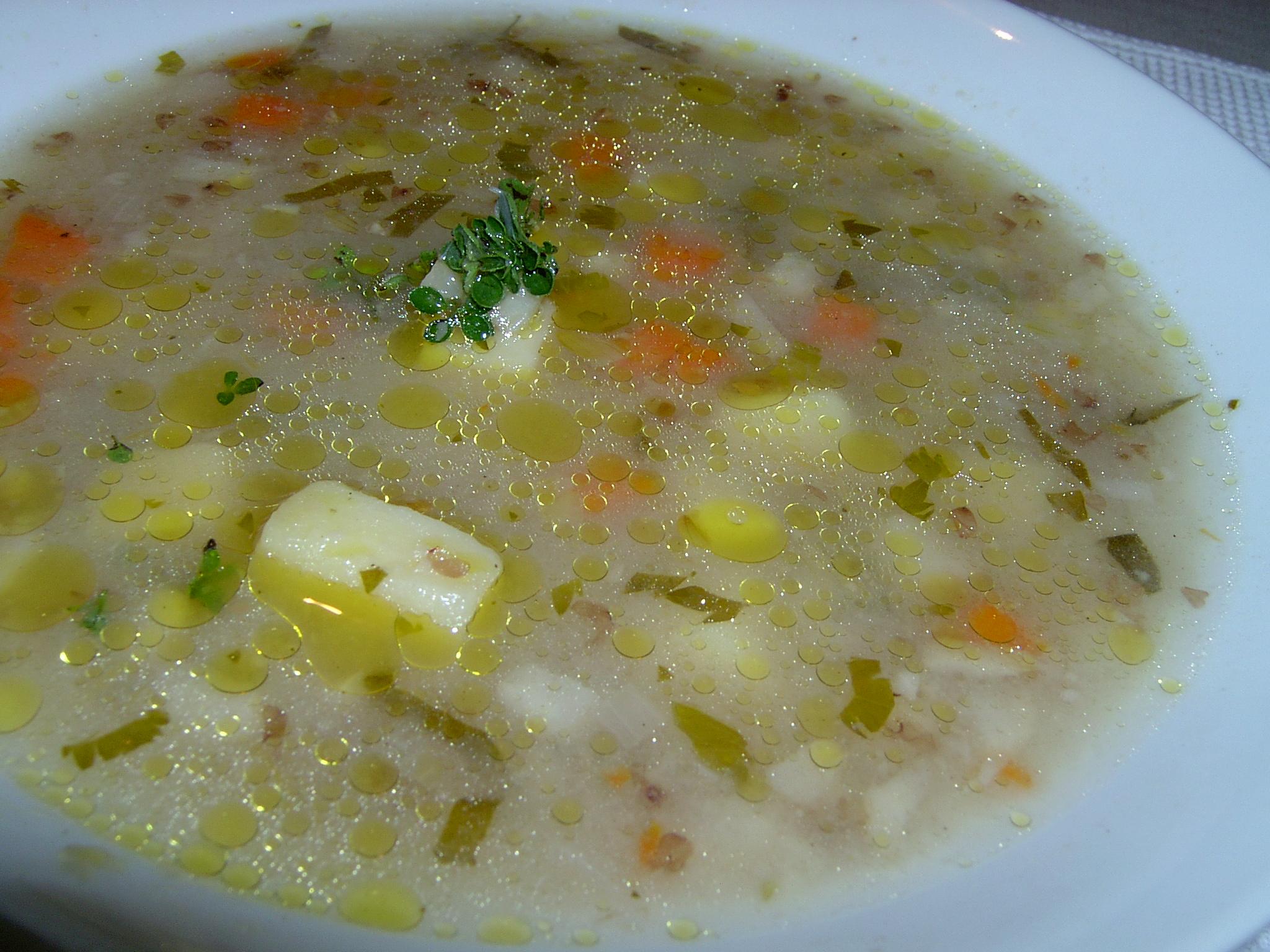 Fotografie receptu: Pohanková polévka