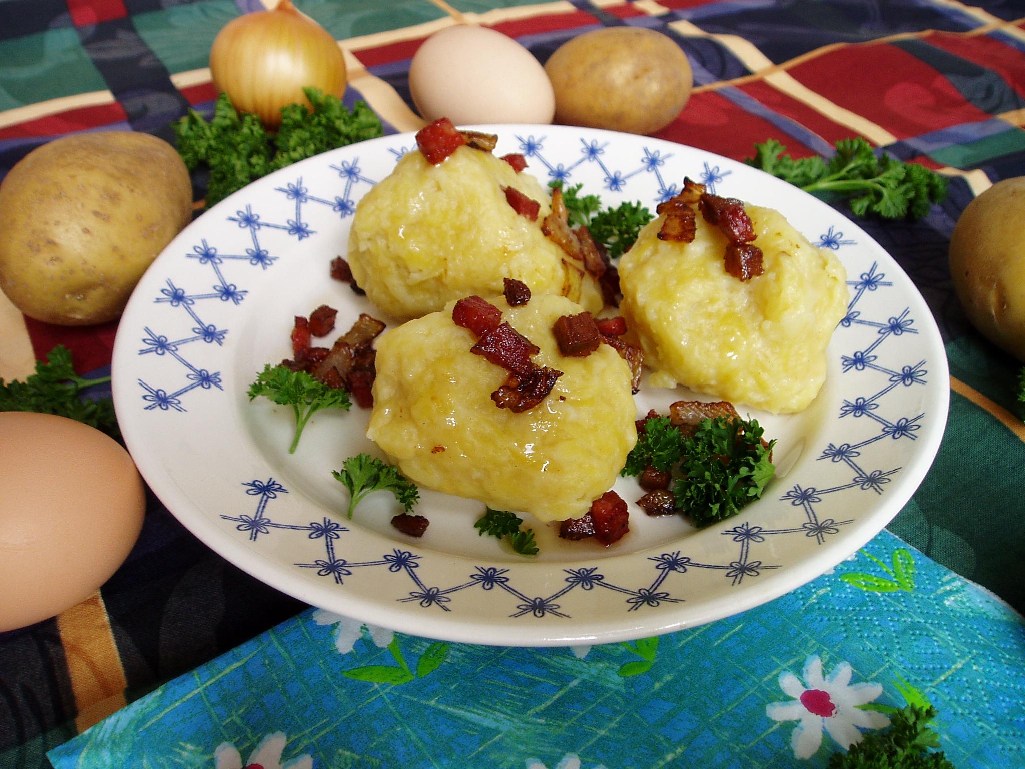 Fotografie receptu: Chlupaté knedlíky