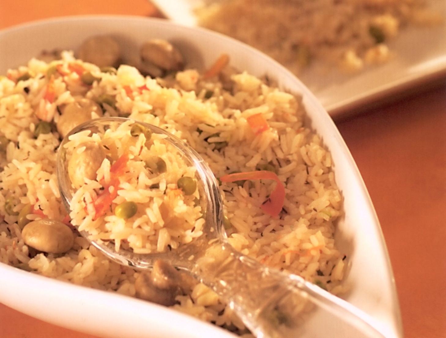 Fotografie receptu: Rychlý zeleninový pilaf