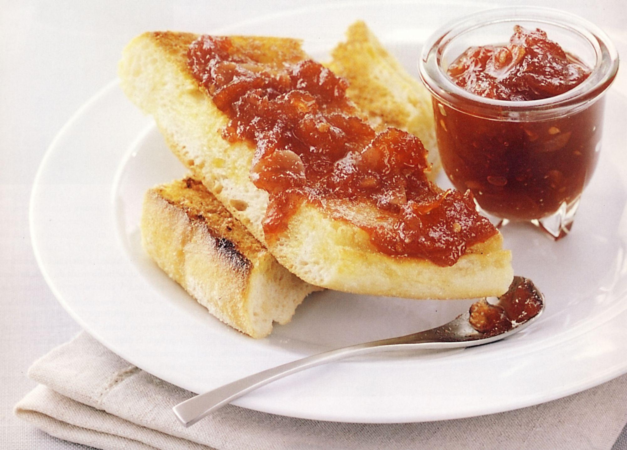 Rajčatový džem s chilli