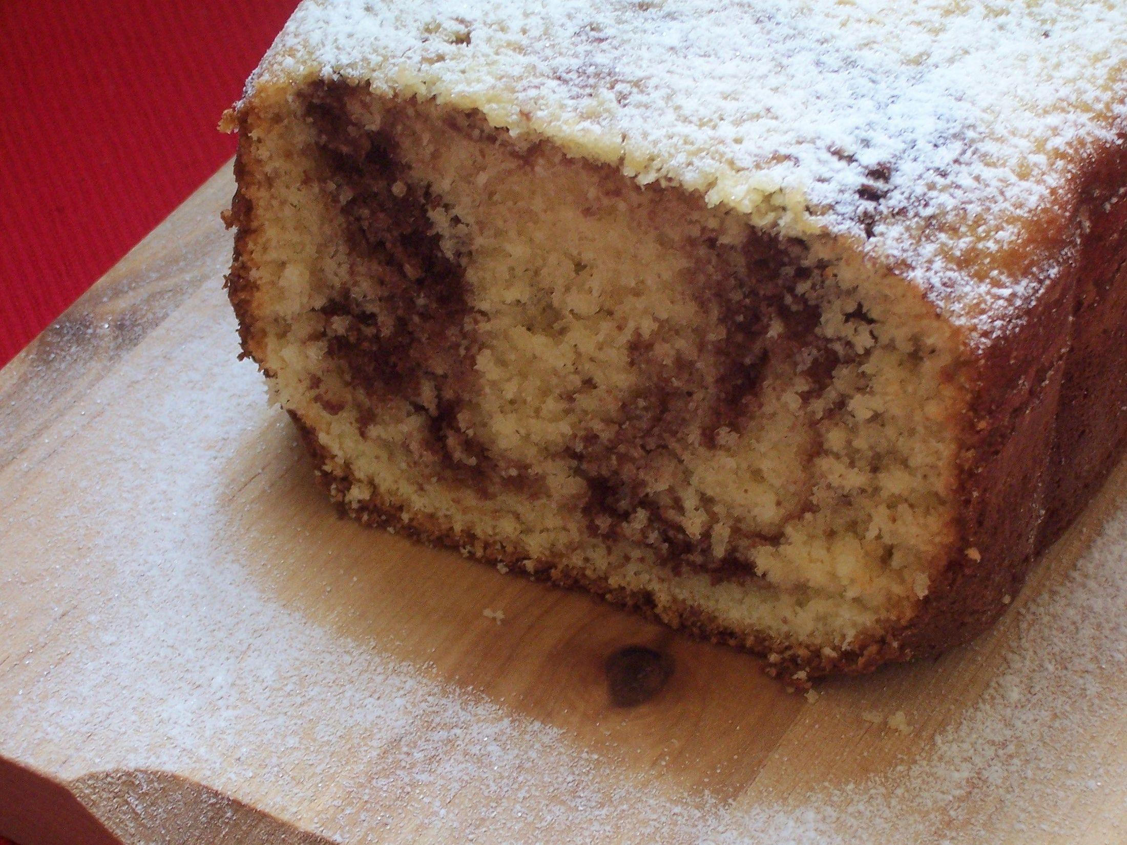 Šlehačková bábovka z domácí pekárny