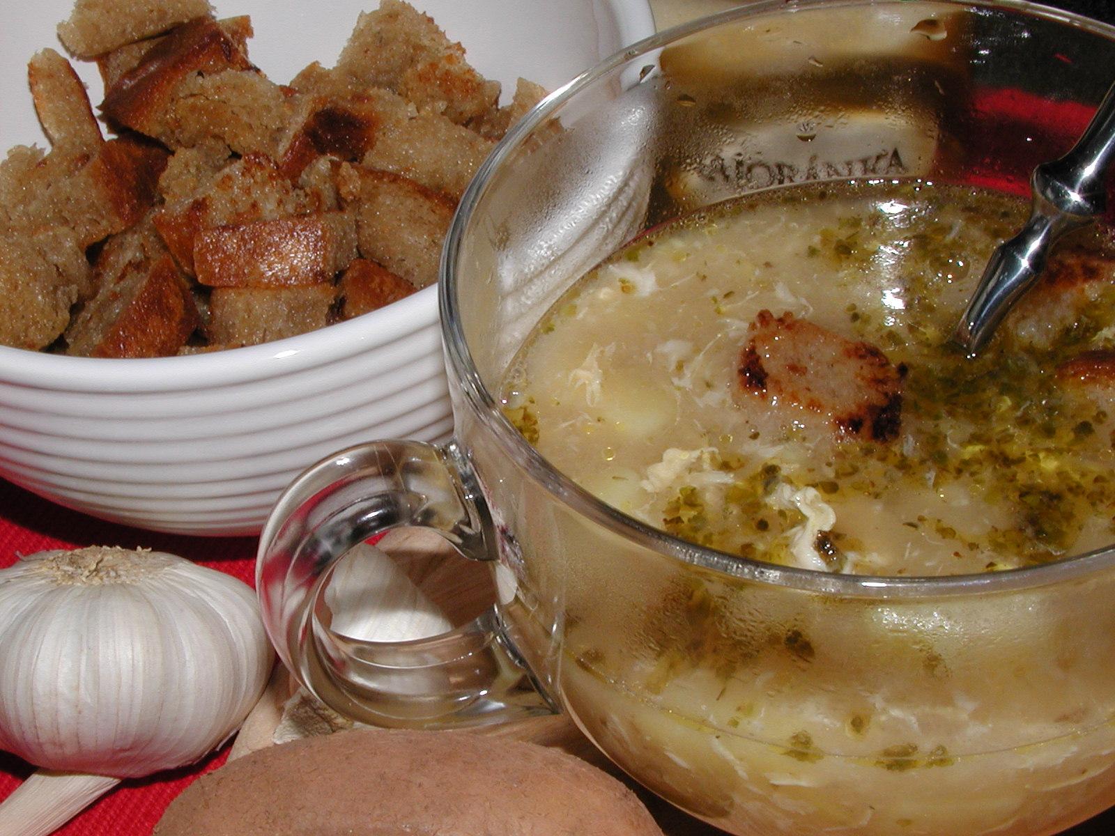 Fotografie receptu: Česnečka 1