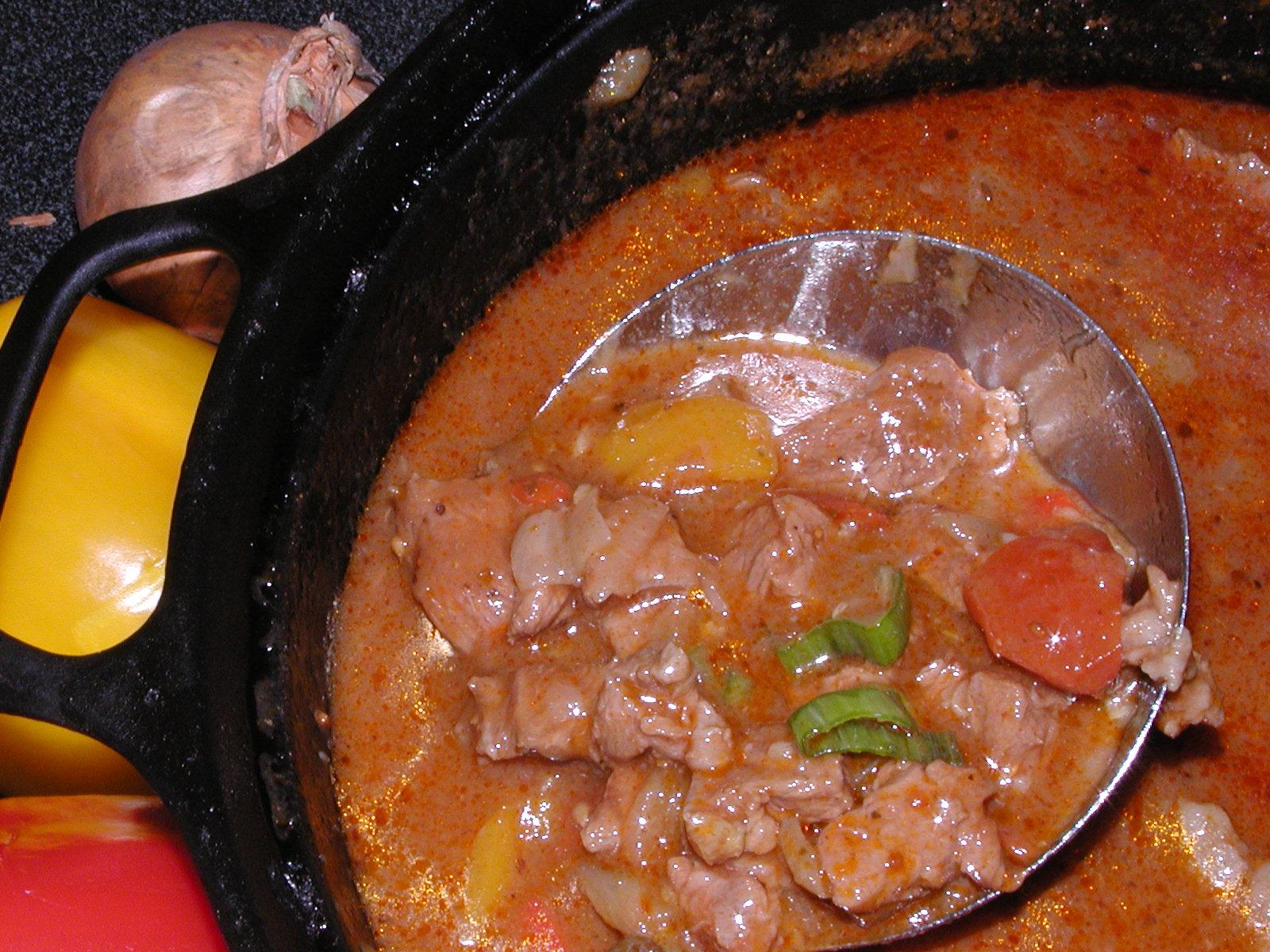 Fotografie receptu: Maďarský guláš 1