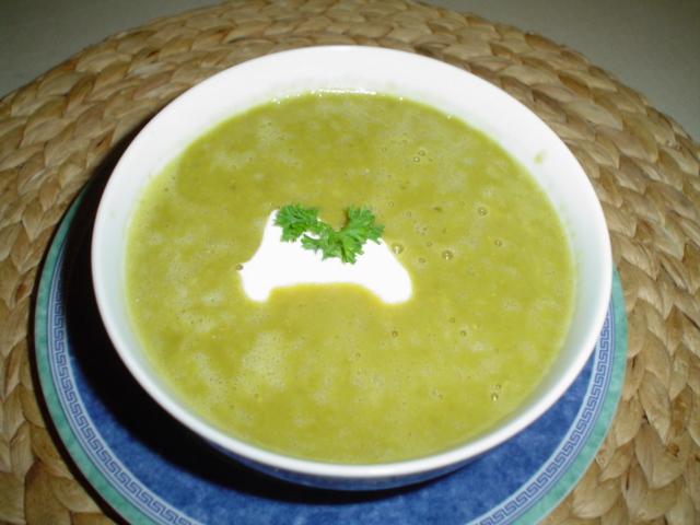 Fotografie receptu: Hrášková polévka