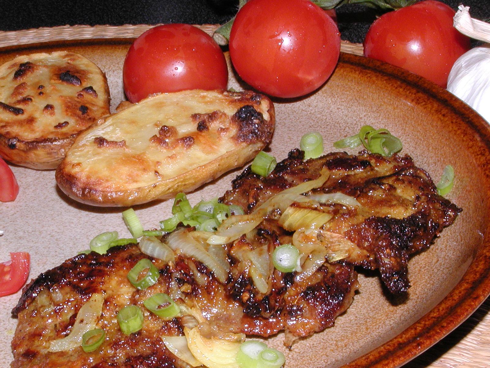 Grilovaná krkovice s badyánem