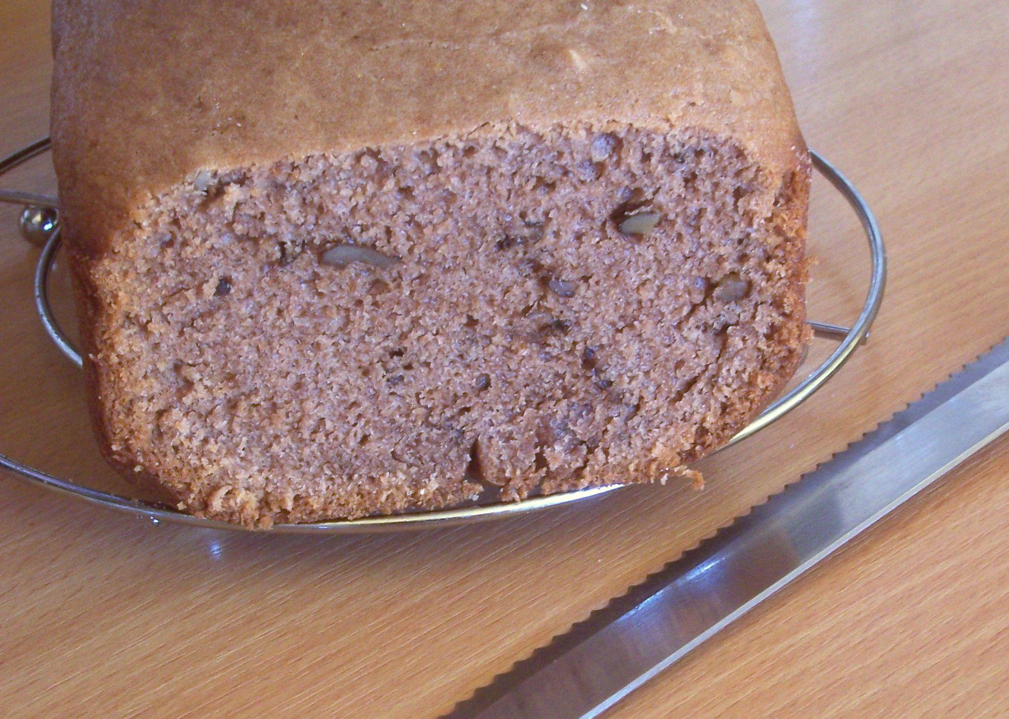 Nugátový perník z domácí pekárny