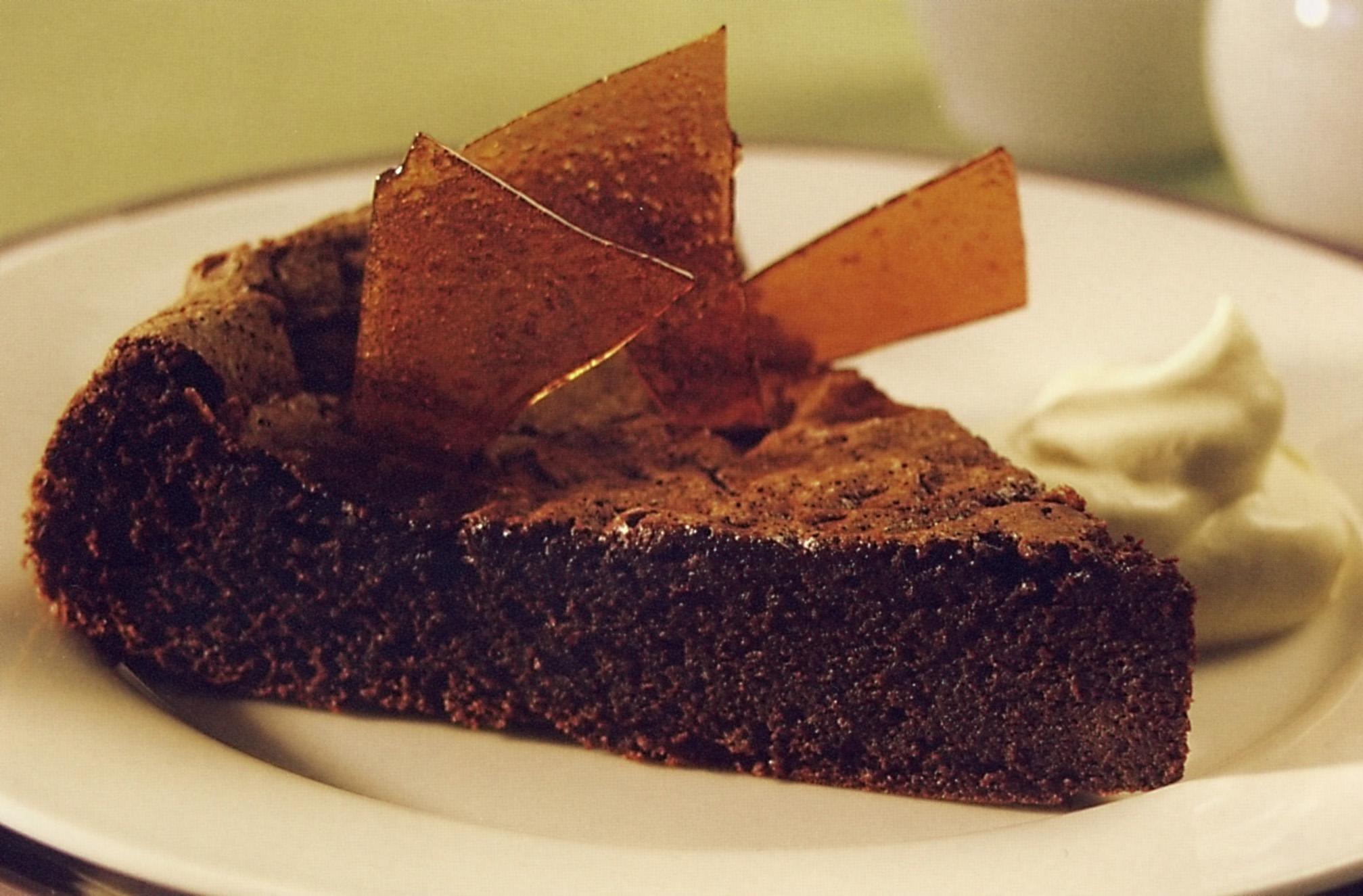 Čokoládový dort 1