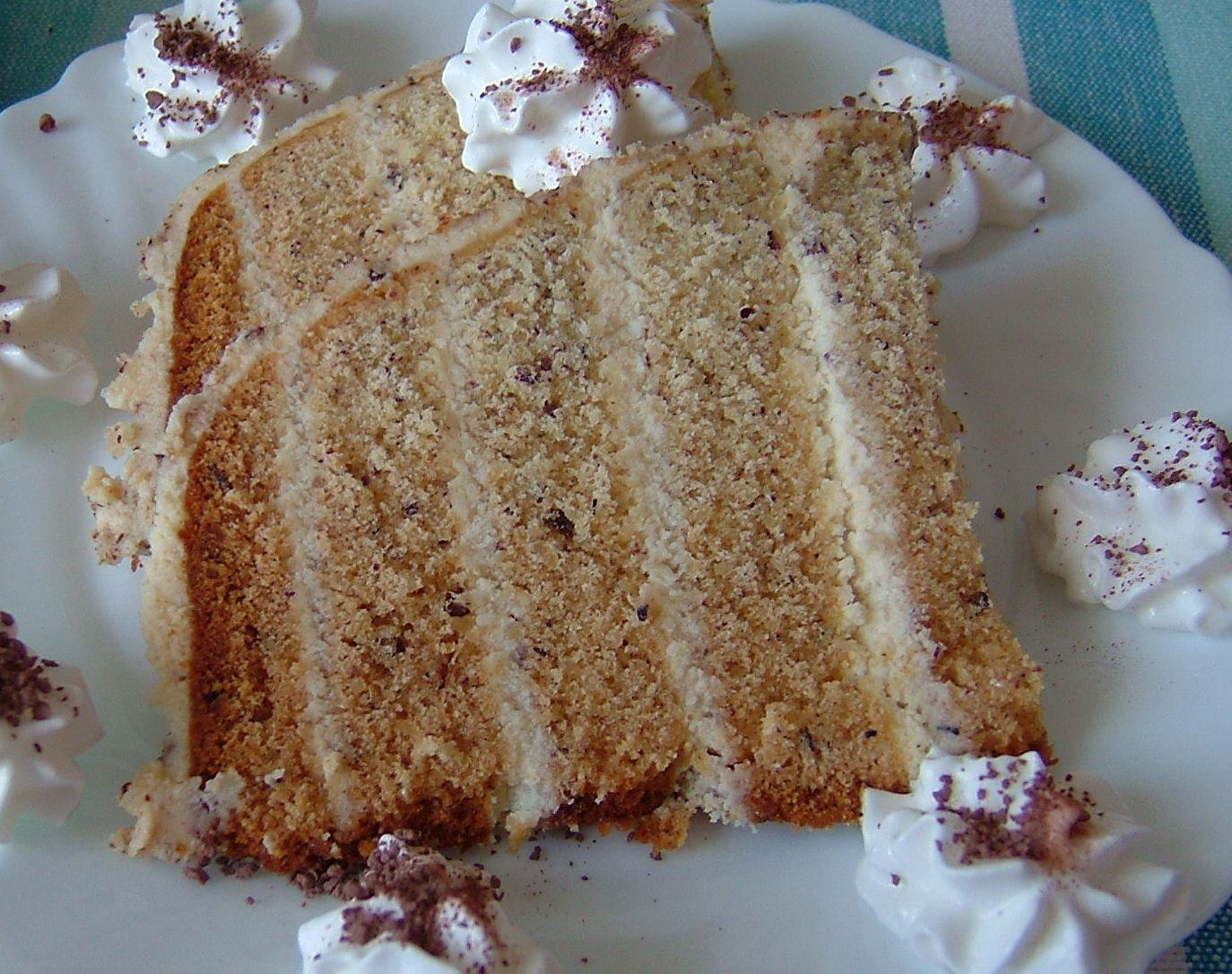 Ořechový koláč z domácí pekárny